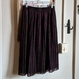 Who What Wear Skirts - //Sold// Who What Wear // pleated midi skirt NWOT